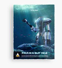 P.R.A.W.N SUIT (Sea) Metal Print