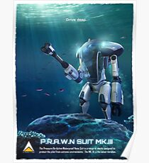 P.R.A.W.N SUIT (Sea) Poster