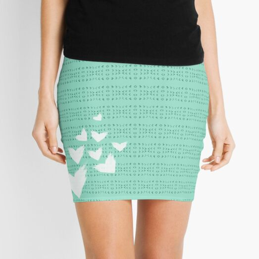 My teal valentine Mini Skirt