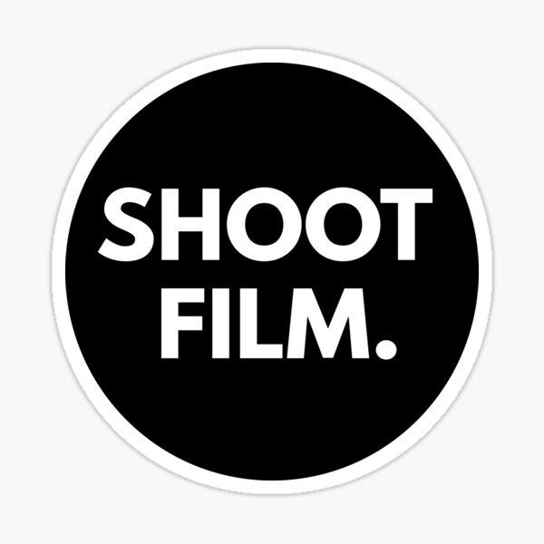 SHOOT FILM. Sticker