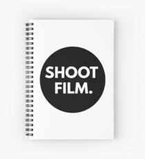 SHOOT FILM. Spiral Notebook