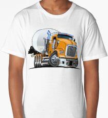Cartoon Mixer Truck Long T-Shirt
