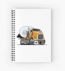 Cartoon Mixer Truck Spiral Notebook
