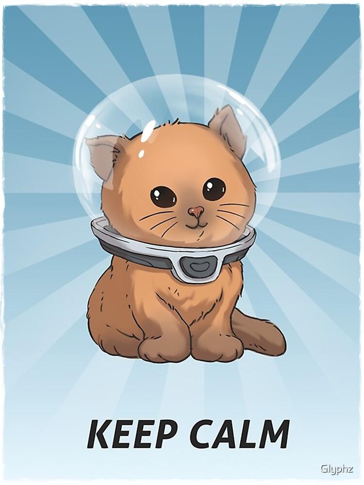 Keep Calm Kitty by Glyphz