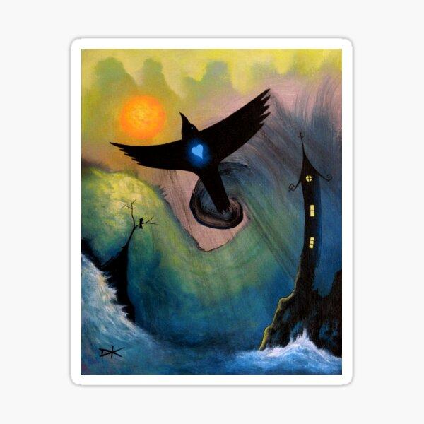Raven Flight  dk_2018jan24a Sticker
