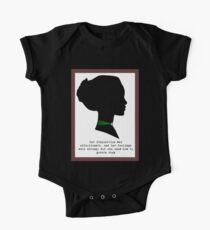 Elinor Dashwood Short Sleeve Baby One-Piece