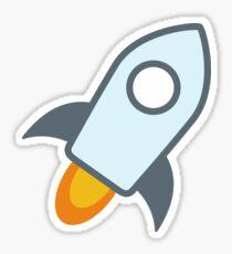 Stellar XLM Crypto Currency Icon Sticker