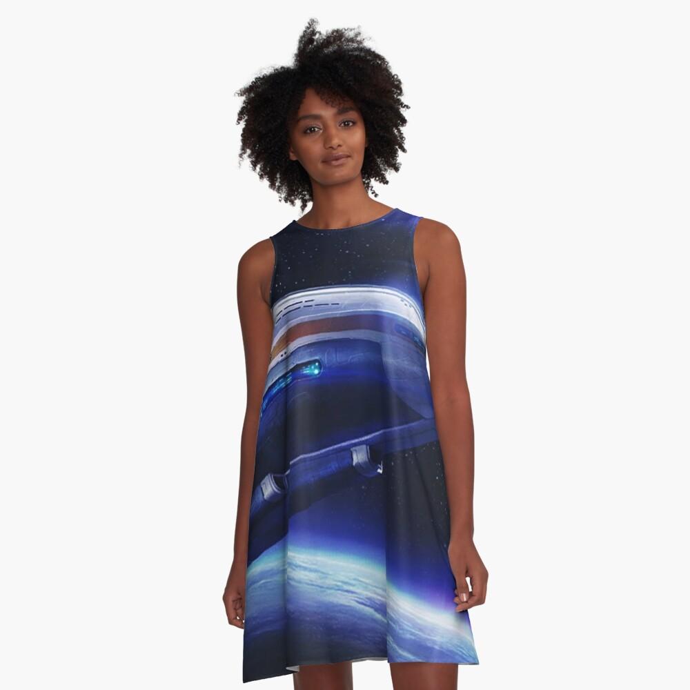 Aurora Flying A-Line Dress