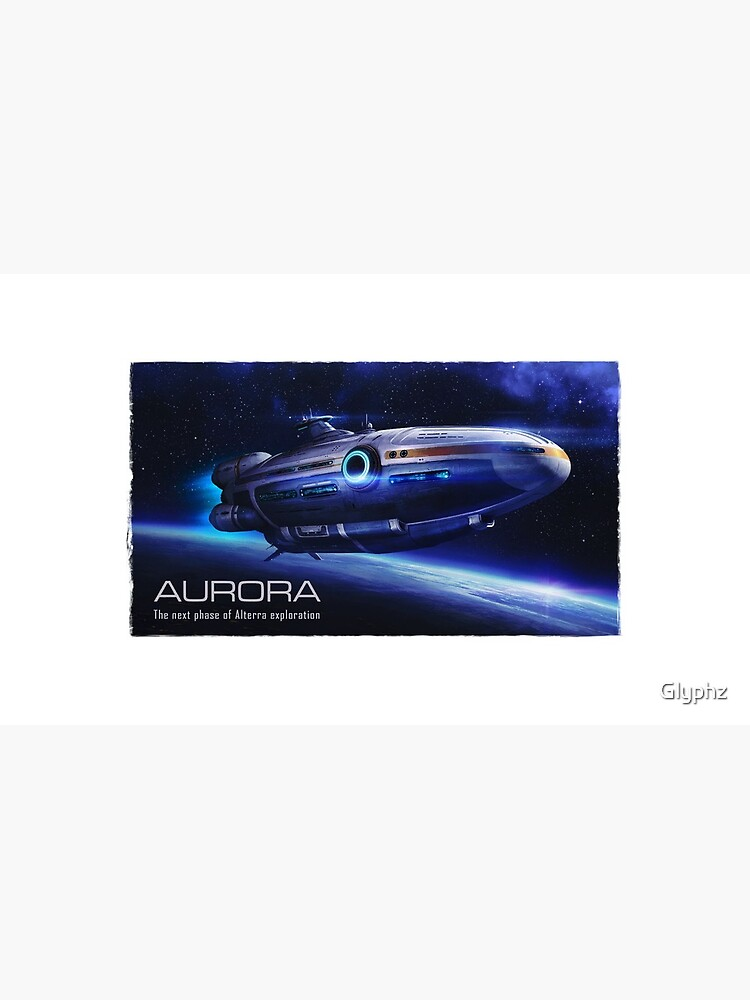 Aurora Flying by Glyphz