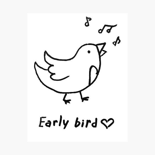 Early bird Photographic Print