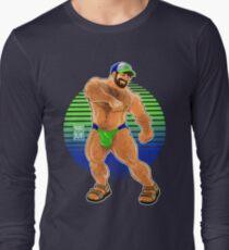 ADAM LIKES TO DANCE - LIME SUN Long Sleeve T-Shirt