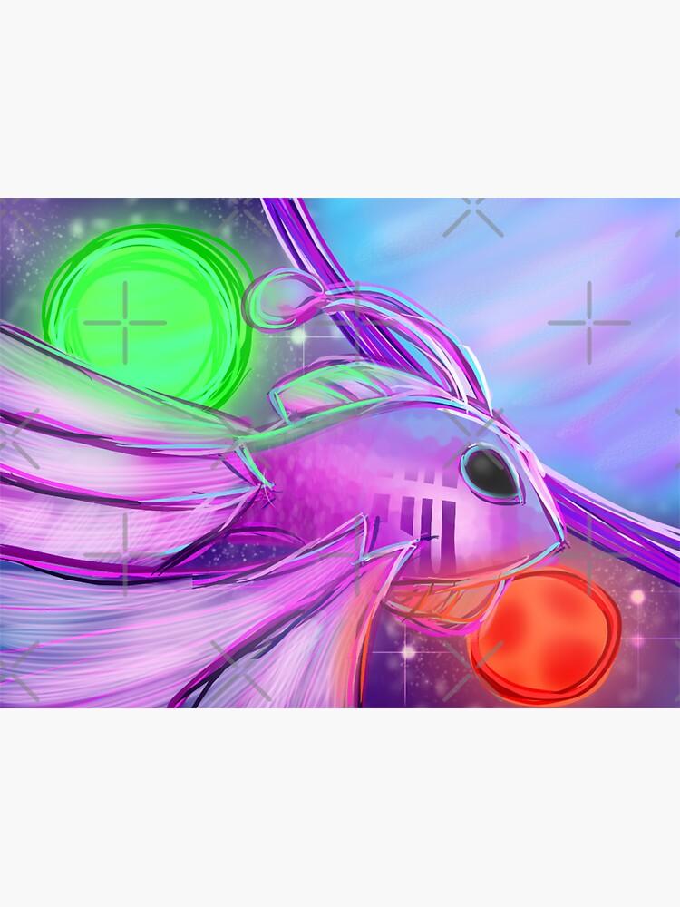 Alien Angelfish de LivingSpaceDust