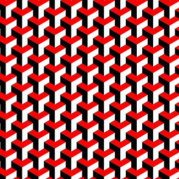 Power Cube Pattern by PinkFoxDesigns