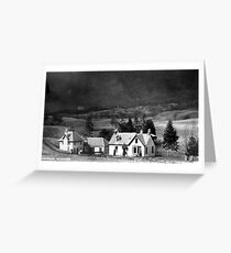 Glenshee Perthshire Greeting Card