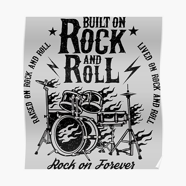 Built on Rock and Roll Poster