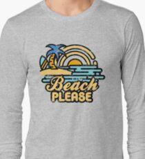 Strand bitte Langarmshirt
