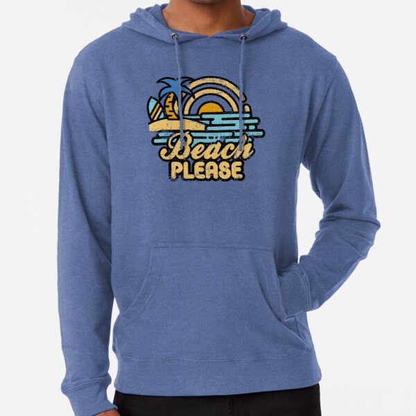Beach Please Lightweight Hoodie