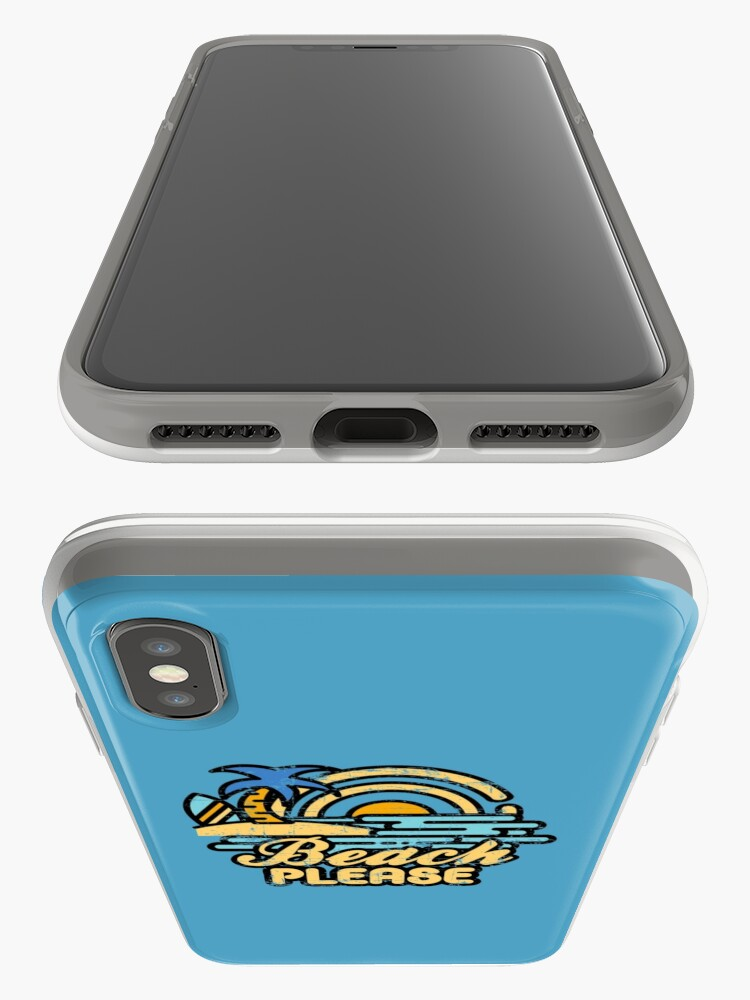 Alternate view of Beach Please iPhone Case & Cover