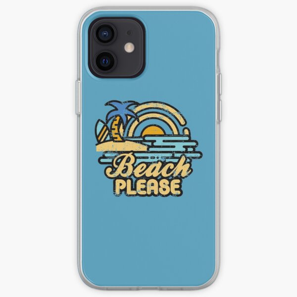 Beach Please iPhone Soft Case