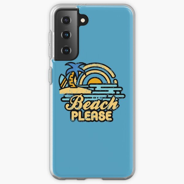 Beach Please Samsung Galaxy Soft Case