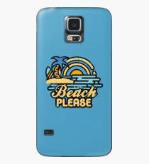 Strand bitte Hülle & Skin für Samsung Galaxy