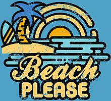 «Playa por favor» de artlahdesigns
