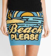 Strand bitte Minirock