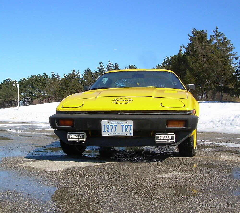 My 1977 TR7 :~ seeing a warm winter Day.... by Larry Llewellyn