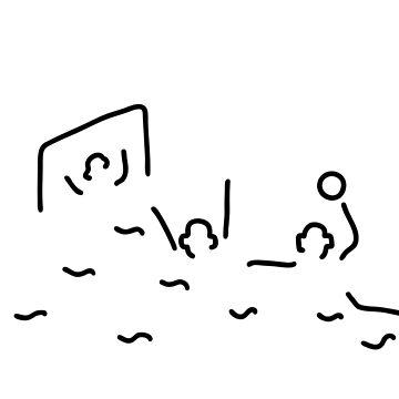 beach-ball gate wasserballer by lineamentum