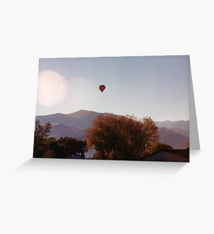 On A Clear Day... Greeting Card