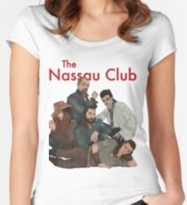 Sincerely Yours, The Nassau Club Women's Fitted Scoop T-Shirt