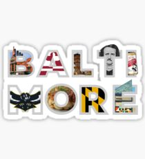 Essence of Baltimore Sticker