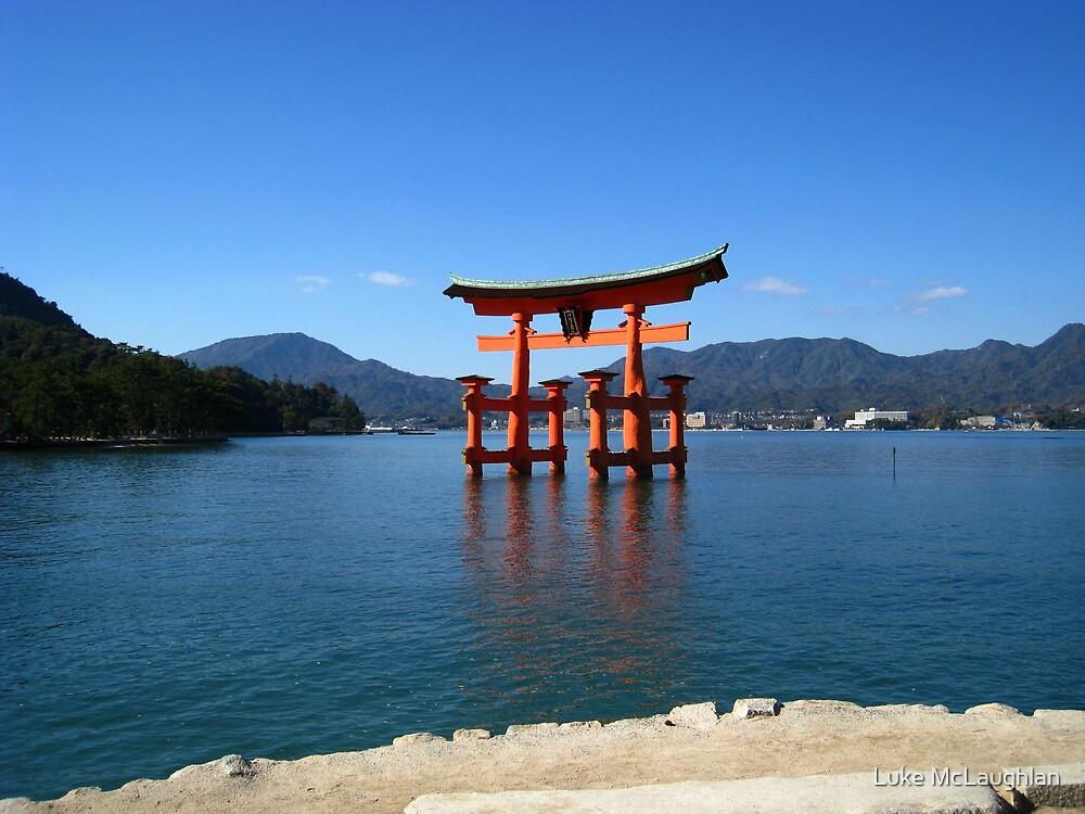 Itsukushima Shrine Tori Gate by Luke McLaughlan
