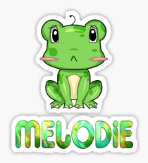 Melodie Frog Sticker
