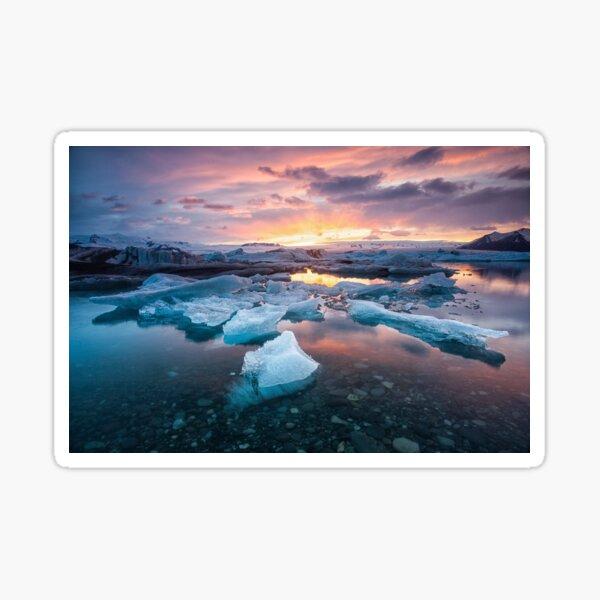 Jokulsarlon Glacier Lagoon Sticker