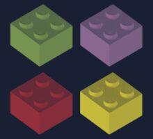 Lego Colour Cubes