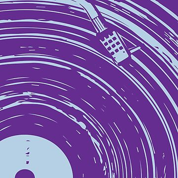 vinyl purple by come