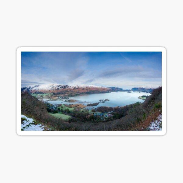 Surprise View, Keswick, Lake District Sticker