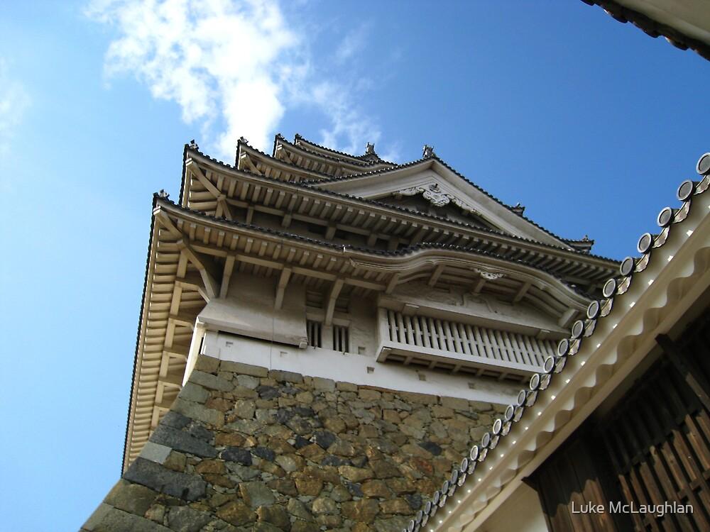 Himeji Castle 2 by Luke McLaughlan