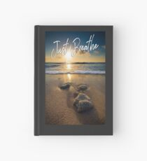 Just Breathe Hardcover Journal