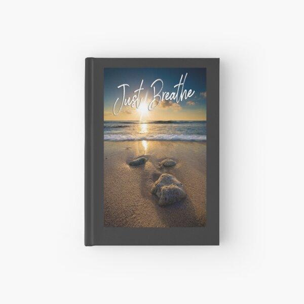 Just Breathe Hardcover Journal
