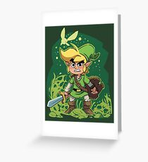 Zelda dungeon Greeting Card