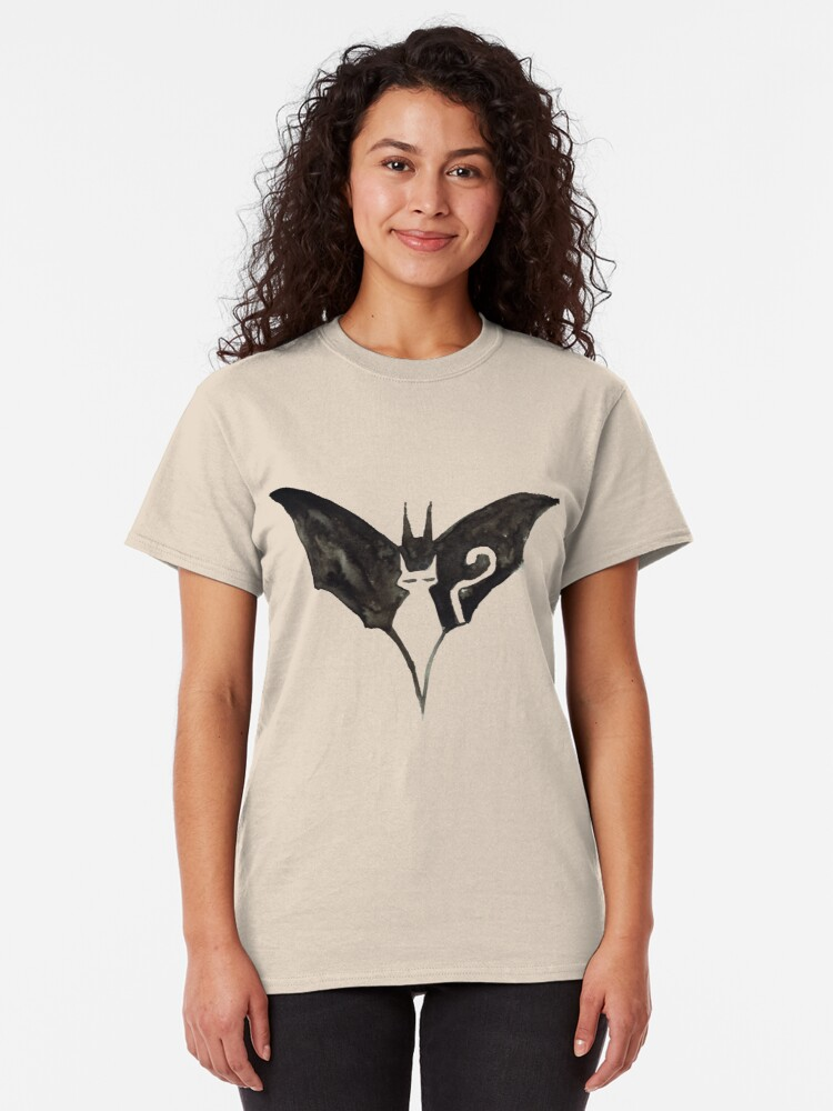 Alternate view of Batcat logo Classic T-Shirt
