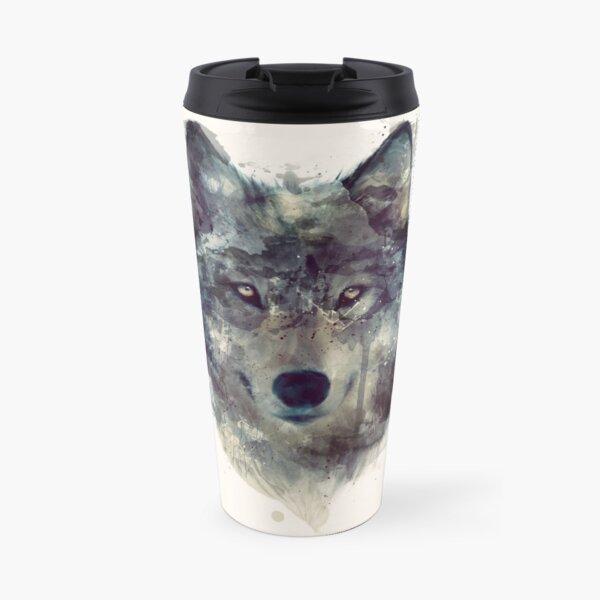Wolf // Durchhalte dich Thermobecher