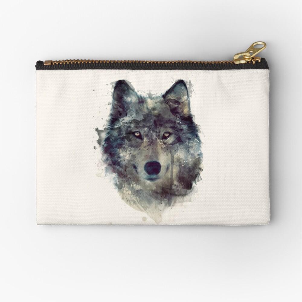 Wolf // Durchhalte dich Täschchen