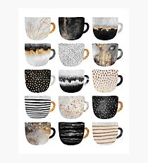 Pretty Coffee Cups 4 Photographic Print