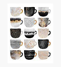 Pretty Coffee Cups 4 Photographic Print