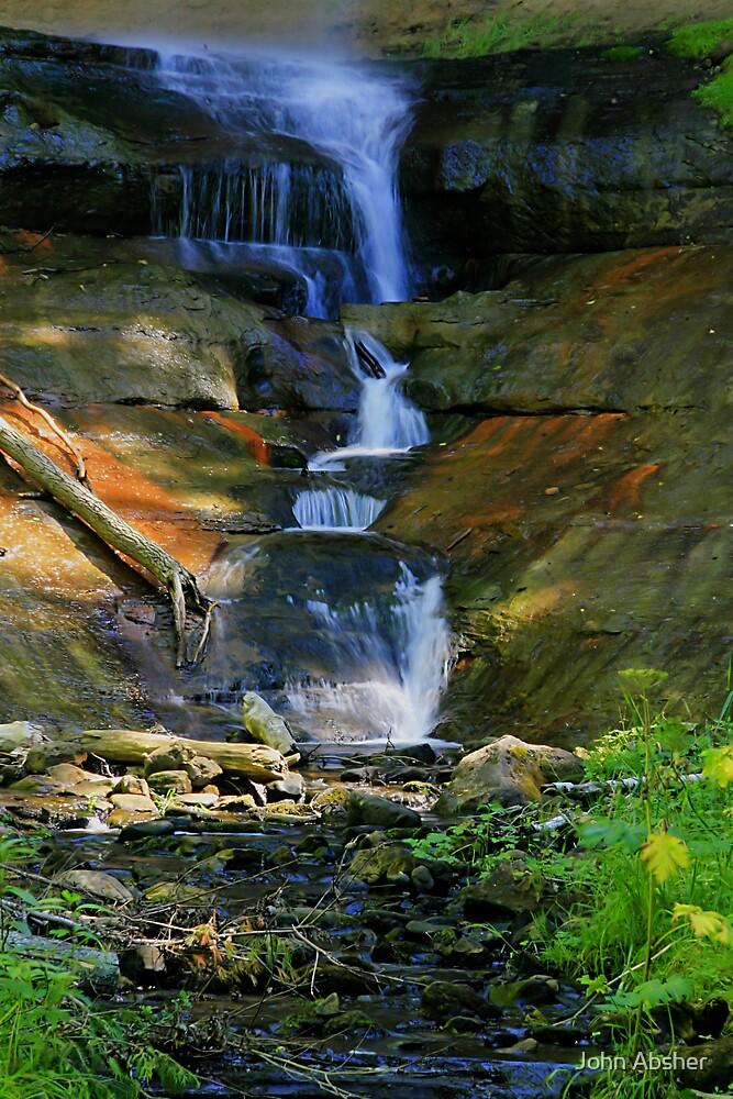 Munising Falls 3 by John Absher