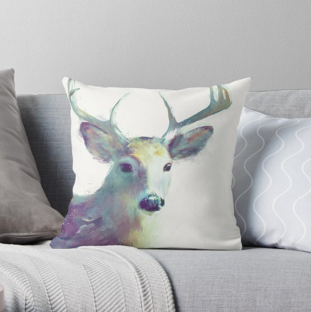 Whitetail No. 2 Throw Pillow