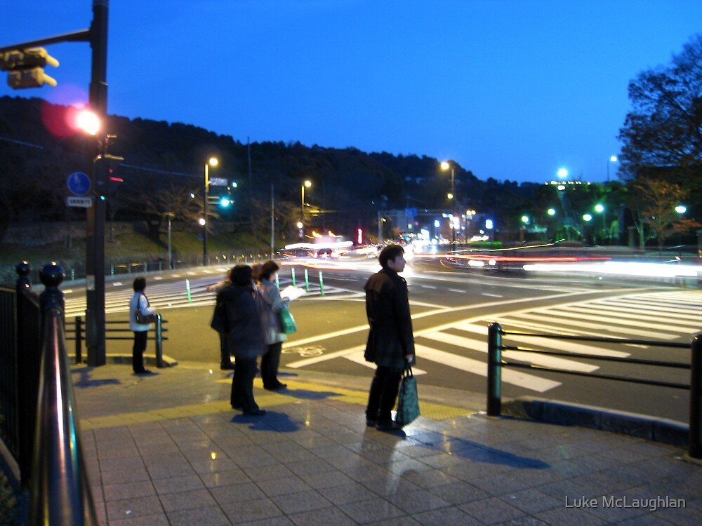 Time Lapse in Ginza by Luke McLaughlan